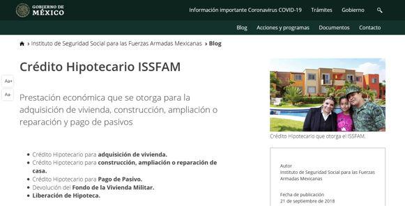 estado cuenta ISSFAM 1