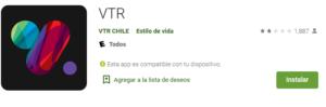 Descargar estado de cuenta VTR desde app