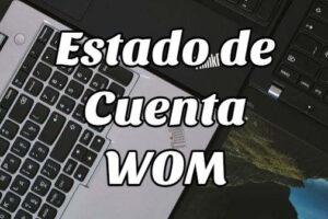 Cómo consulta en Estado de Cuenta Wom online