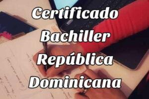 ¿Cómo obtener el Certificado de Bachiller Online?