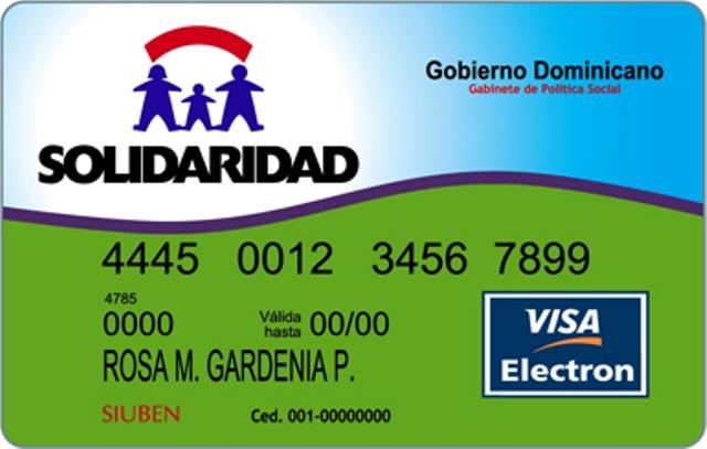 Denuncian en PP que ciudadanos le estarían dando uso inadecuado a la  tarjeta Solidaridad - Puerto Plata Digital
