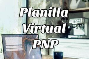 Cómo consultar e imprimir la Planilla Virtual PNP