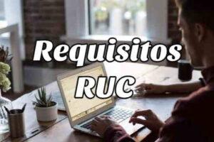 Requisitos y Pasos para sacar el RUC por Primera Vez