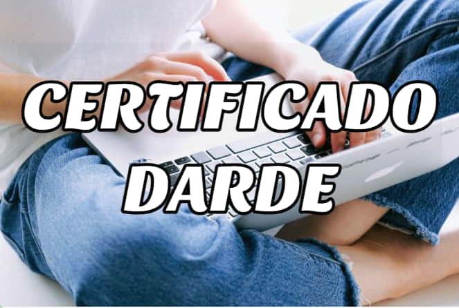 certificado darde empleo