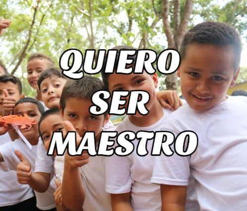 quiero ser maestro ecuador